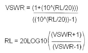 Anntenna systems formula