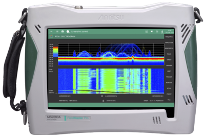 Field Master Pro MS2090A Handheld Spectrum Analyzer.