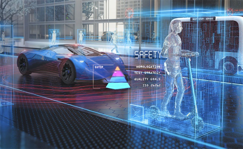 C-V2X is a key enabling technology for autonomous vehicles (photo courtesy of dSPACE)