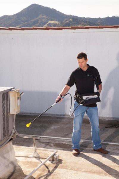 Conducting a rooftop PIM hunt